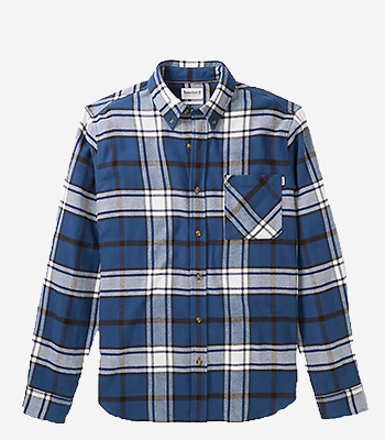 Timberland Men's clothes LS Heavy Flannel check