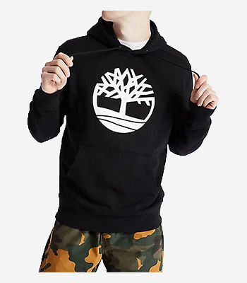 Timberland Men's clothes Core Logo P/O Hood Bb