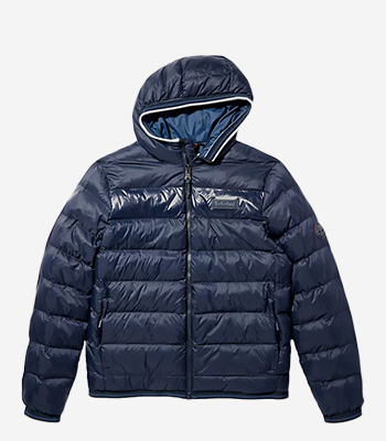 Timberland Men's clothes A2GA1 Mid Weight Hooded Jacket