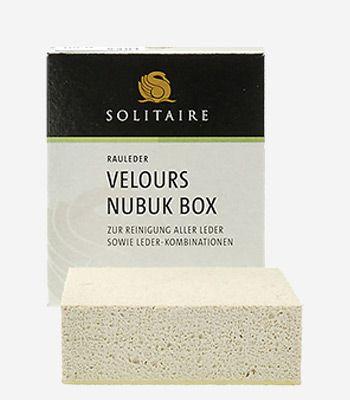 Solitaire Accessoires Verlours Nubuk Box