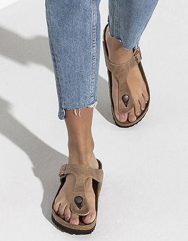Birkenstock Women's shoes Gizeh Softfußbett