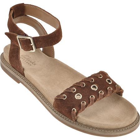 Buy Clarks Corsio Amelia Flat Sandals For Women Online