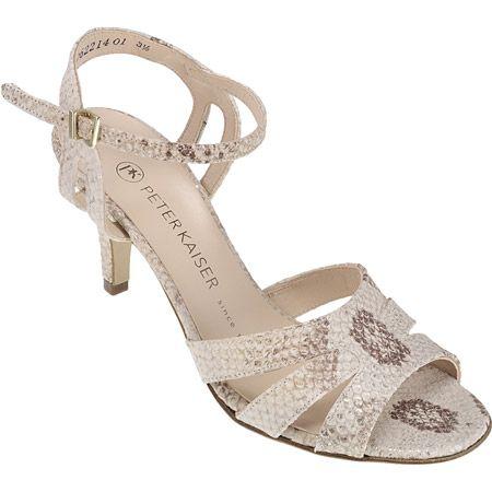 new concept 12416 d48a1 Peter Kaiser 81747 090 QUANDA Women's shoes Sandals buy ...
