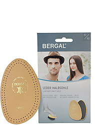 Bergal accessoires Leder Halbsohle 2016